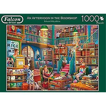 Falcon De Luxe Ein Nachmittag in der Buchhandlung 1000-Teil-Puzzle
