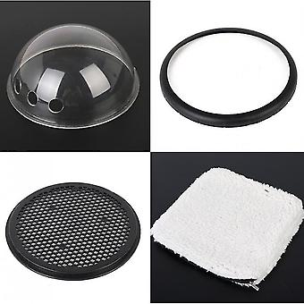Cápsula espacial da moda Pet Bag Pu Tipo Saco respirável de gato (preto)