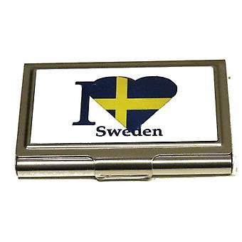 Korthållare - I love Sweden