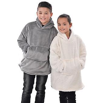 Eskimo Kids Sherpa Lined Hoodie, Grey