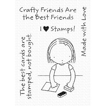 "Mis cosas favoritas Pure Innocence Stamps 3""X4"" - Crafty Friends"