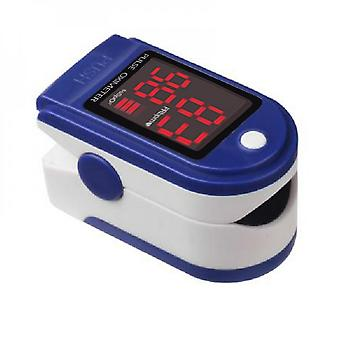 Portable Finger Oximeter, Pulse Monitor With Measurements