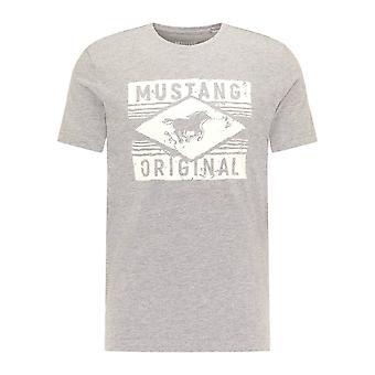 Mustang Shoes Alex C Print 10106954140 universal all year men t-shirt