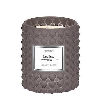 Doftljus Cotton Grått 8x9 cm