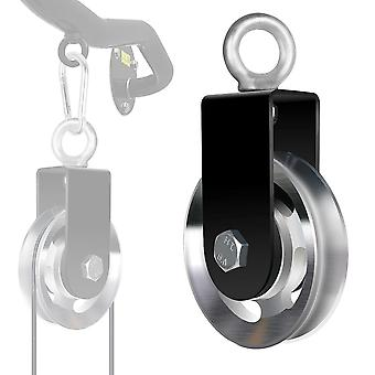 Cable Lifting Pulley Hanging Wheel-wire Rope Machine Parts