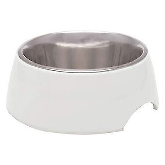 Loving Pets Ice White Retro Bowl  - 1 count - Medium