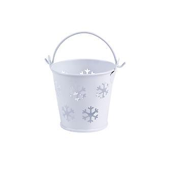 Pails Snowflake - 5 Pack - White