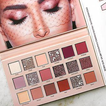 Makeup brushes nude eyeshadow palette 18 colors matte eye shadow naked makeup cosmetics|makeup sets