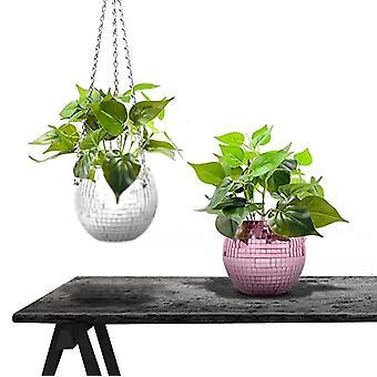 Hanging Planters For Indoor Plants - Flower Pots Outdoor Garden Planters Pots