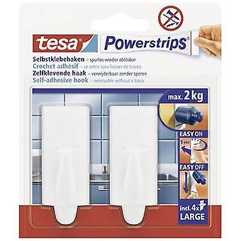 tesa 58045-00-01 Tesa Powerstrips ® Kroker Stor trend, Hvitt innhold: 2 stk.)