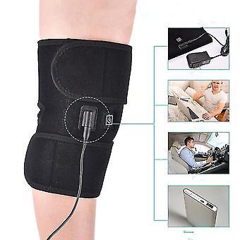 Qian InfrarotHeizung Kniepolster Unterstützung Knieorthese für Arthritis Thermische Wärmetherapie Wrap Knieprotektor Massage