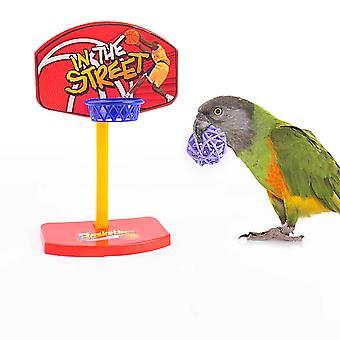 Papagáj képzés szellemi fejlesztés Játék-mini Kosárlabda Karika Shooting Játék