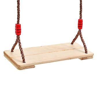 Children's Swing Indoor And Outdoor Wooden Swing Toy ,45x19.5x1.6cm