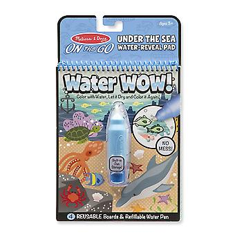 Melissa & Doug Water Wow! Under the Sea Reuseable Painting Book
