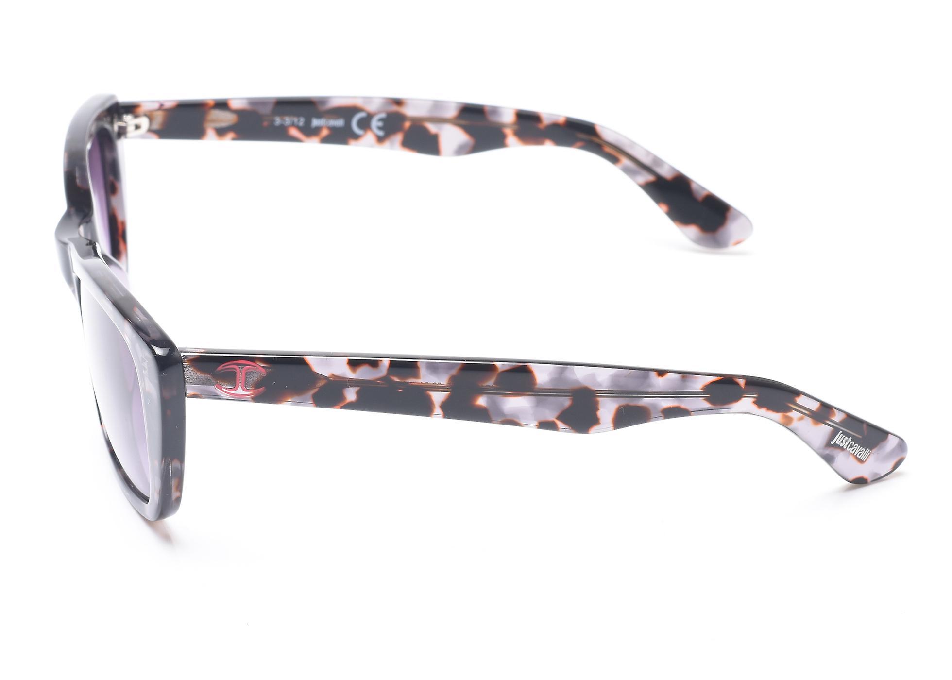 Just Cavalli Women's Classy Rectangular Frame Sunglasses Brown