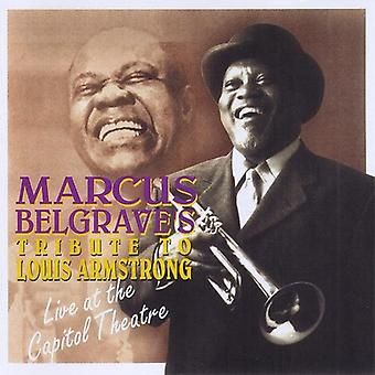 Marcus Belgrave - Tribute to Louis Armstrong [CD] USA import
