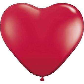 Baloane inima inima baloane 8pcst Red nunta decorare decor de nunta
