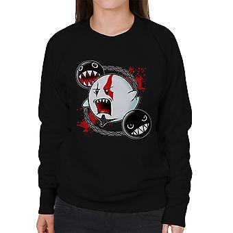 Ghost Of Sparta God Of War Mario Women's Sweatshirt