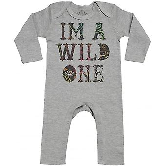Spoilt Rotten I'm A Wild One Baby Footless Romper