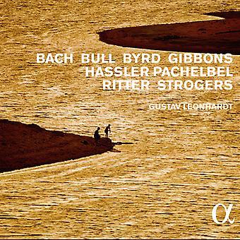 Gustav Leonhardt - musique pour clavecin de Bach Bull Byrd Gibbons Hassler Pachelbel Ritter Strogers [CD] USA import