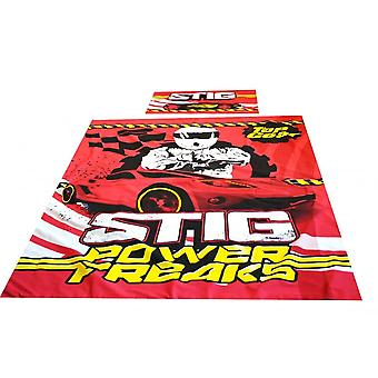 Top Gear Stig Power Freaks Single Duvet Set Official Top Gear Merchandise