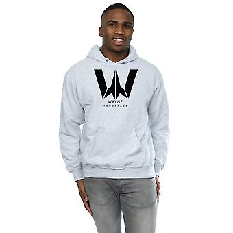 DC Comics Men's Justice League Movie Wayne Aerospace Hoodie