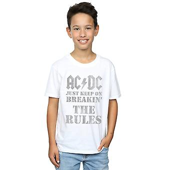 AC/DC Boys Just Keep On Breaking The Rules T-Shirt