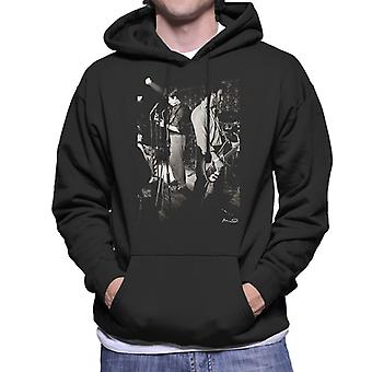 Ian Curtis und Peter Hook von Joy Division Bowdon Vale Youth Club Herren Sweatshirt mit Kapuze
