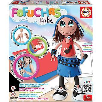 "Educa Borras ""Fofucha Katie"" Doll (17034)"