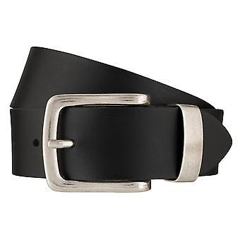 BERND GÖTZ belts men's belts leather belt black 6379
