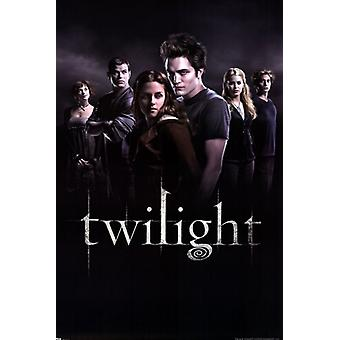 Twilight - groupe affiche Poster Print