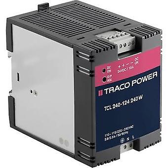 A TracoPower TCL 240-124 binario PSU (DIN) 24 Vdc 10 A 240 W 1 x