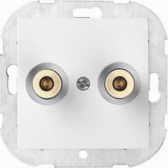 Sygonix Insert Speaker SX.11 Sygonix white, (glossy) 33599S