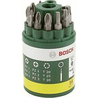 Bosch Accessories Promoline 2607019452 Bit set 10-piece Phillips, Pozidriv, Star