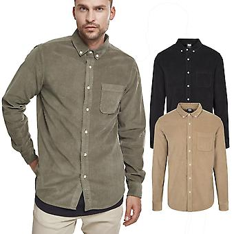 Urbains classics - chemise velour côtelé