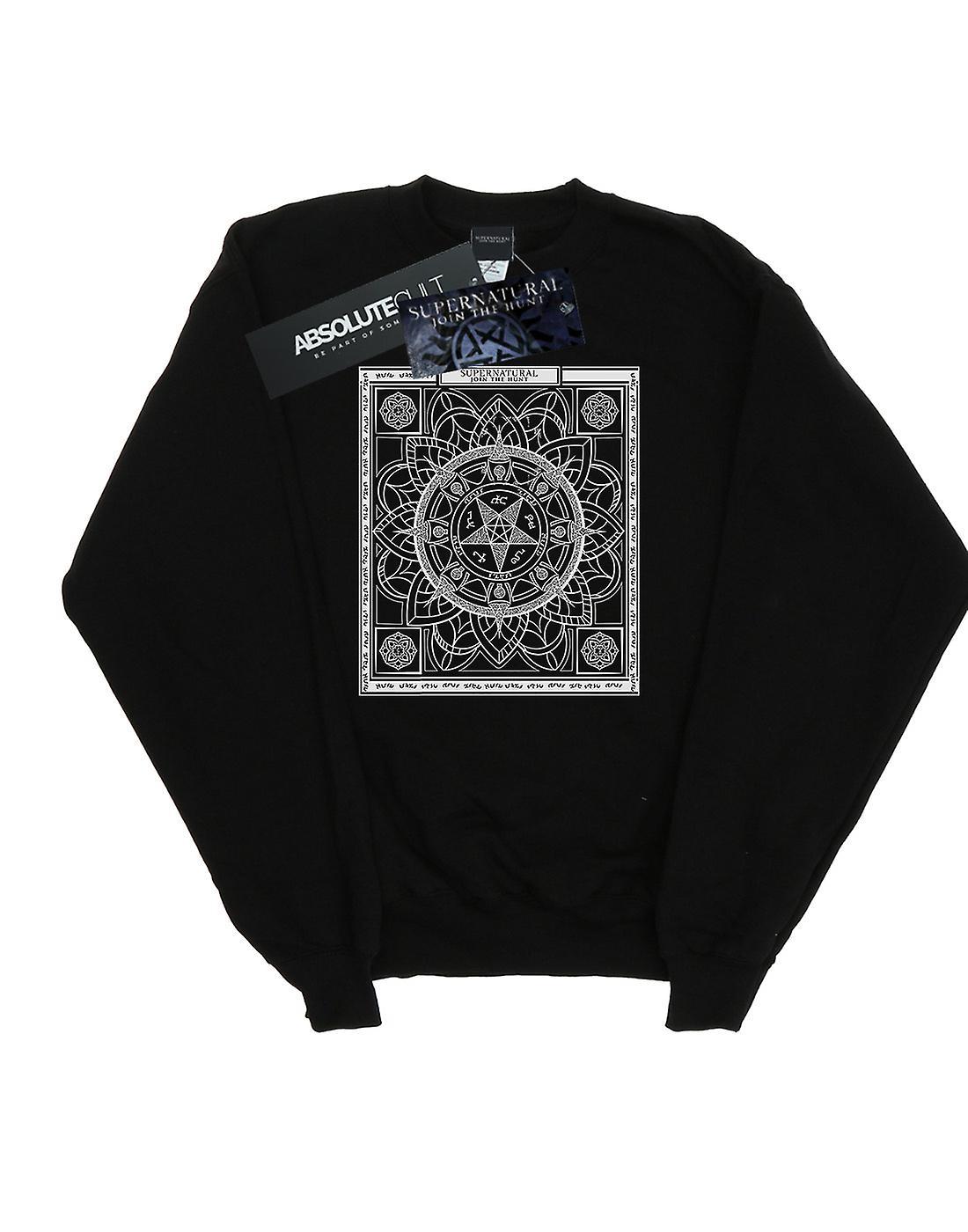 Supernatural Women's Pentagram Pattern Sweatshirt