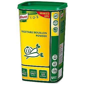 Brodo Knorr vegetale in polvere