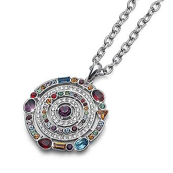 Oliver Weber Chain Planet Rhodium