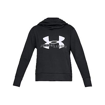 Under Armour Rival Fleece Logo Hoodie 1321185-001 Womens sweatshirt