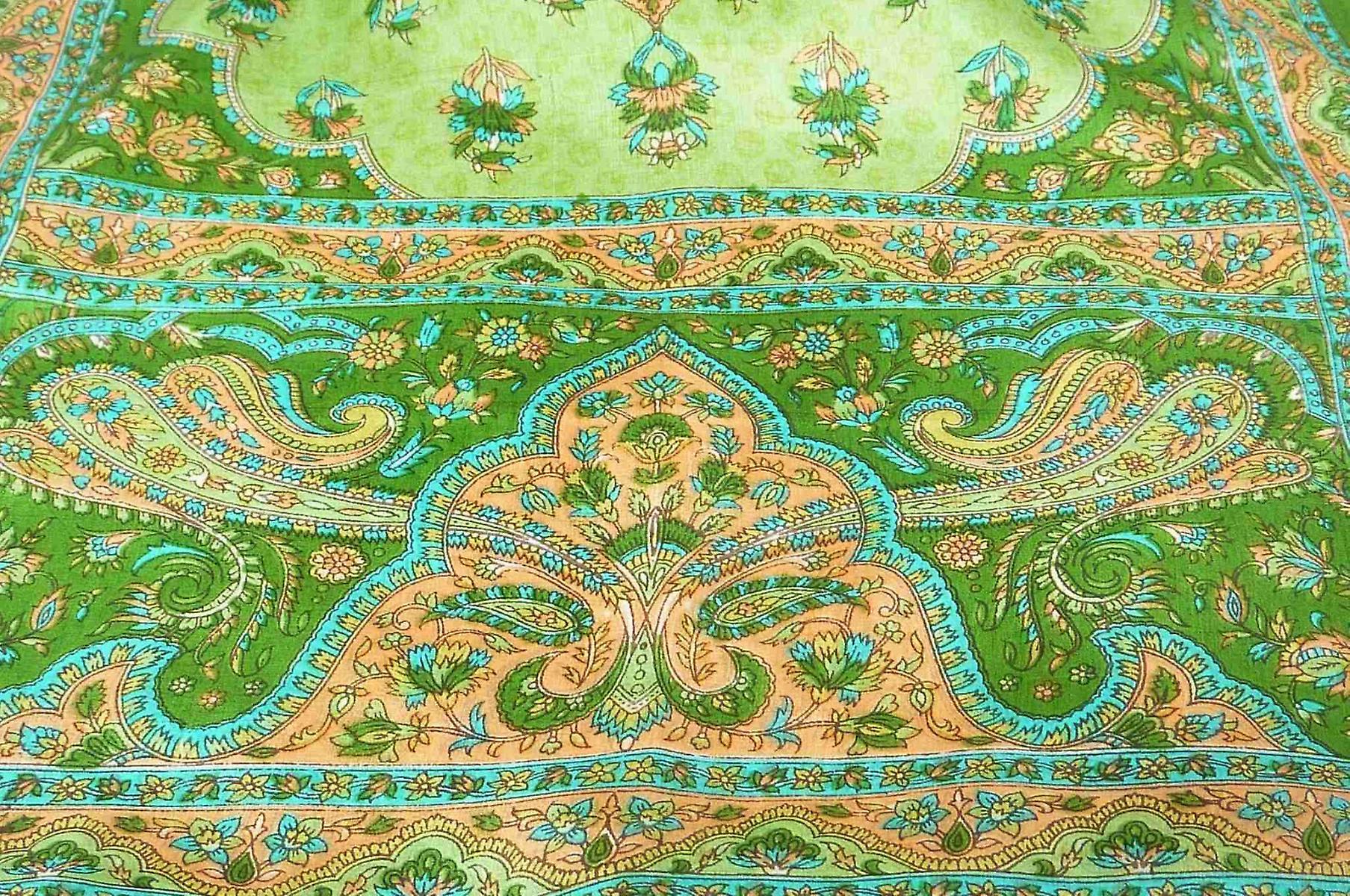 Mulberry Silk Traditional Long Scarf Kali Sage by Pashmina & Silk