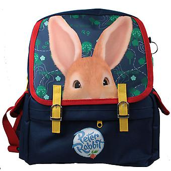 Childs Peter Rabbit mørk blå satchel ryggsekken