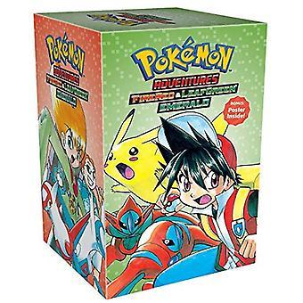 Pokemon feuerrot & Blattgrün-Abenteuer / Smaragd Box Set