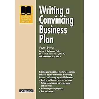 Het schrijven van een overtuigende businessplan (Barron's Business Library)