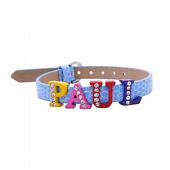 Anpassa armband med ditt namn på titta på bandet armband