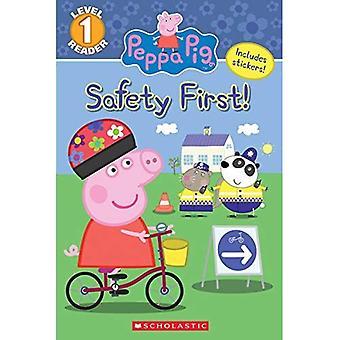 La sicurezza prima! (Peppa Pig: lettore di livello 1) (Peppa Pig)