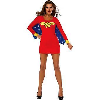 Sexy Wonder Woman Adult Dress - Red Halloween Costume
