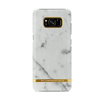 Richmond & Finch shells voor Samsung Galaxy S8 plus-wit marmer
