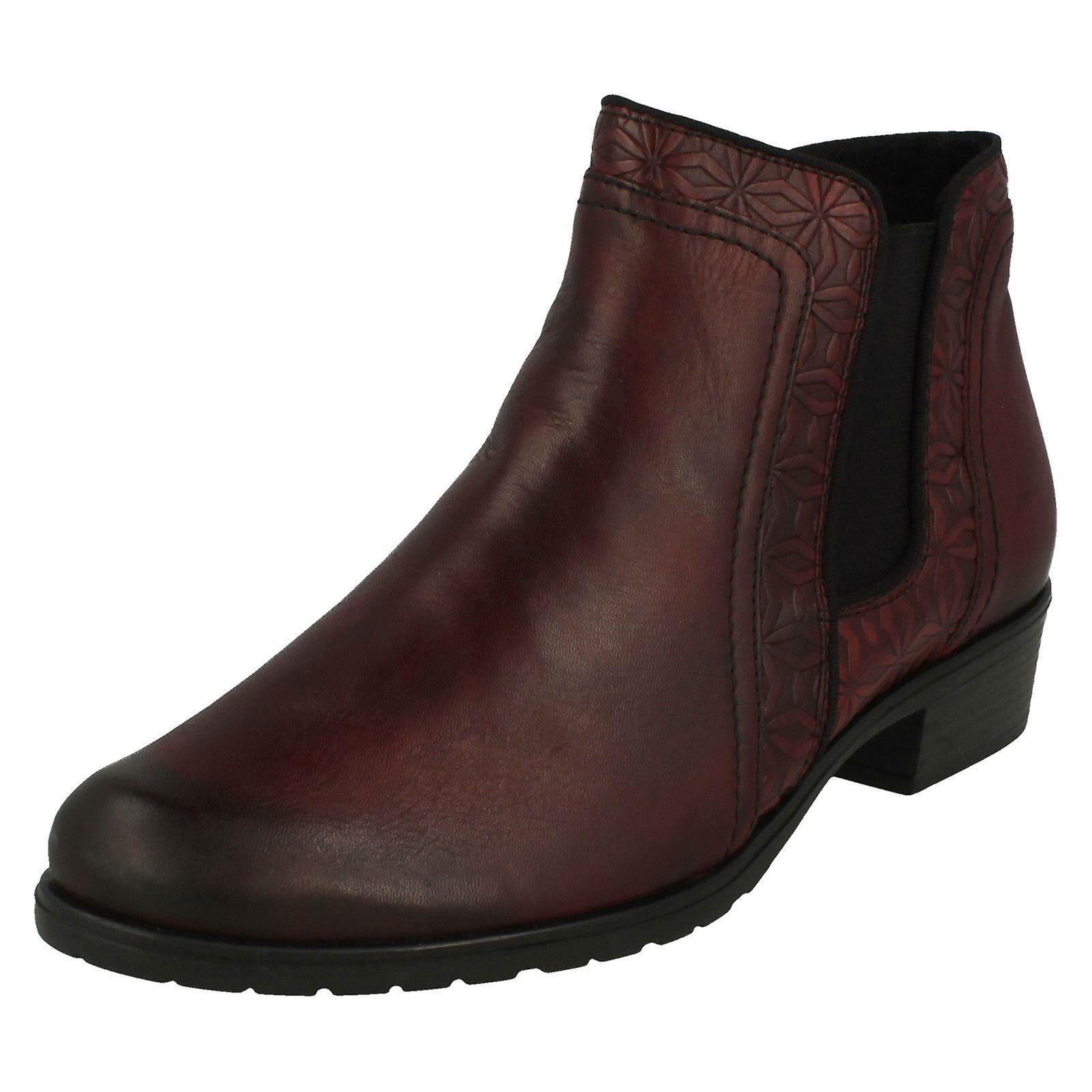 Ladies Remonte Smart Ankle Boots D6873 b9xtf
