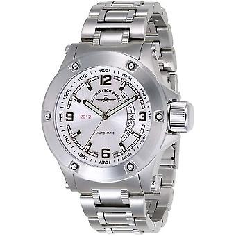 Zeno-Watch Herrenuhr Jumbo Heavy Metal 2012 silvergrey 90878-2824-i2M