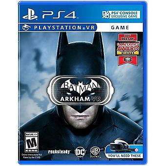 Batman Arkham VR For Playstation 4 Game